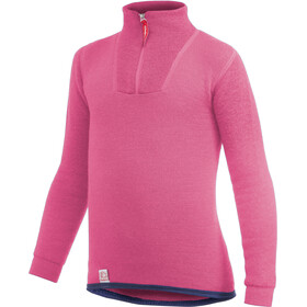 Woolpower 200 Sweat-shirt à col roulé avec demi-zip Enfant, sea star rose